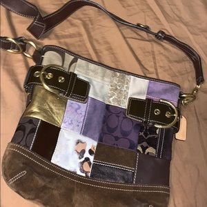 Vintage coach purse / crossbody